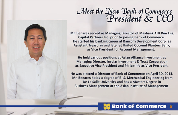 Meet the New Bank of Commerce President & CEO