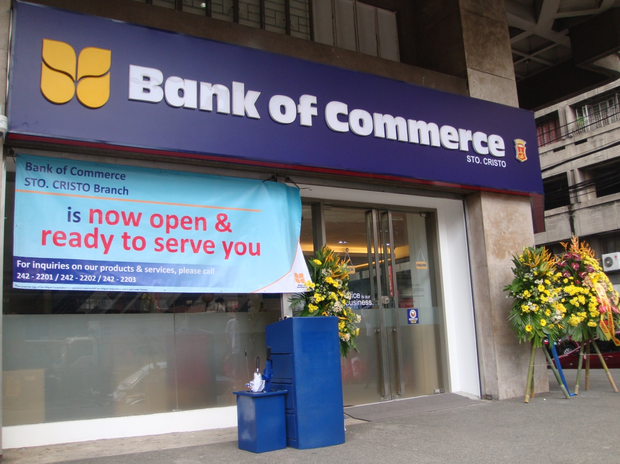 Bank of Commerce Sto. Cristo Branch Opens