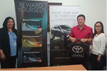 BOC Credit Cards announces the winners of the Swipe Your Way to a New SUV promo. 1
