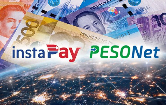 Convenient fund transfers with PESONet and InstaPay.