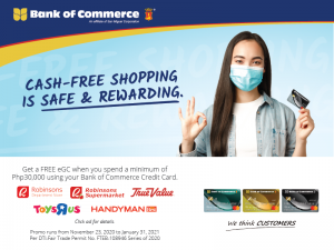 Free eGC Promo with Robinsons Department Store and Other Shops 2